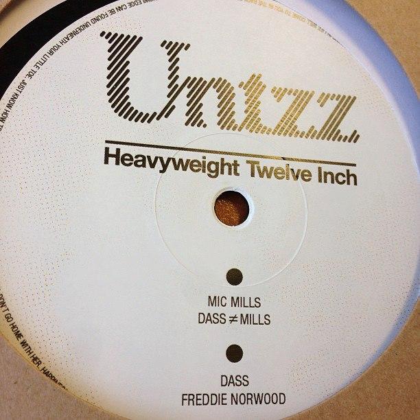 Untzz's BDOH002, out now on 180 gram vinyl
