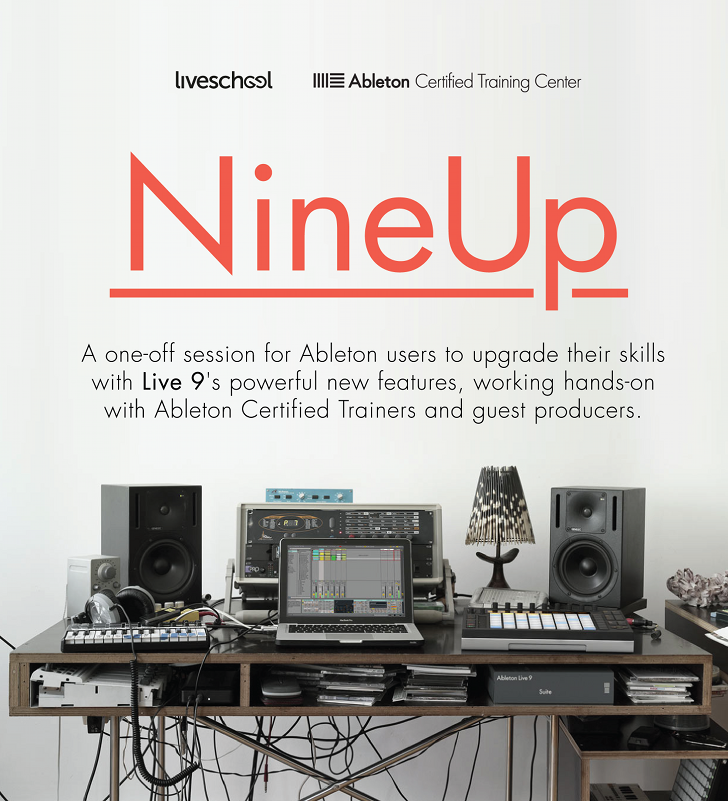 NineUp - Ableton Live 9 Producer Masterclass