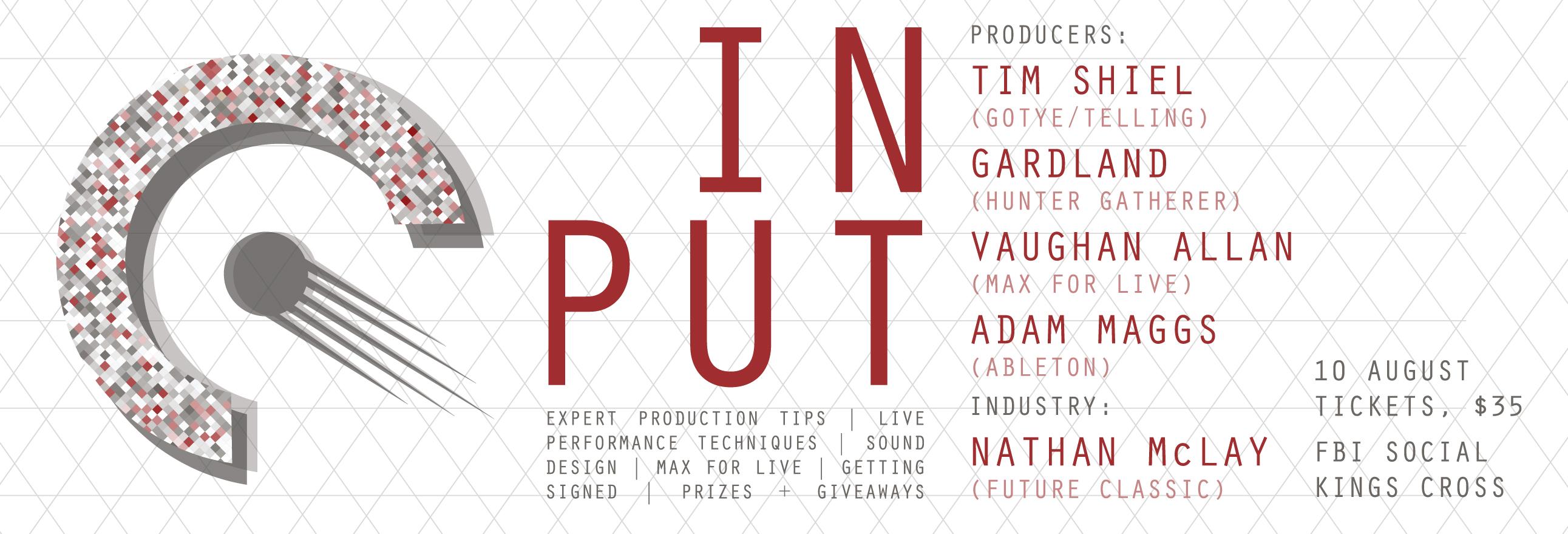 Ableton Live Input Event Sydney