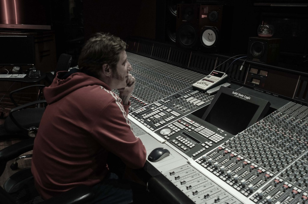 Mitch Kenny at the SSL K-Series Console
