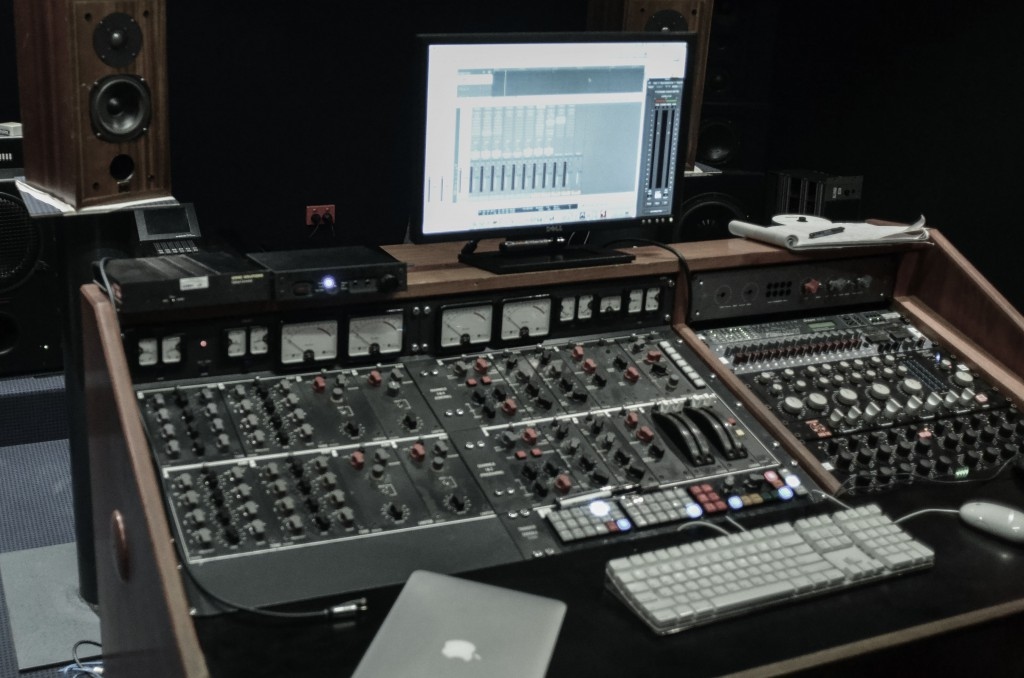 One of Studios 301's mastering suites.