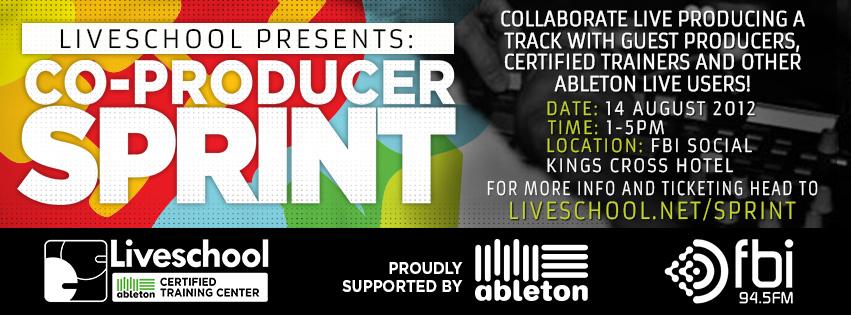 Co-Producer Sprint Banner