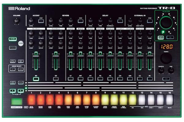 Roland tr-8 drum samples