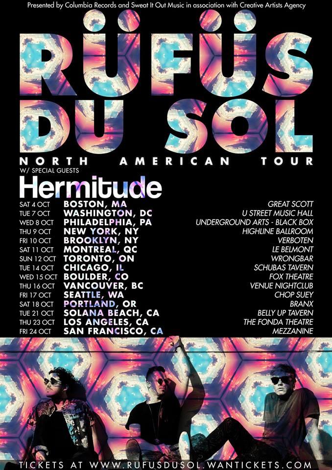 RÜFÜS interview and tour dates
