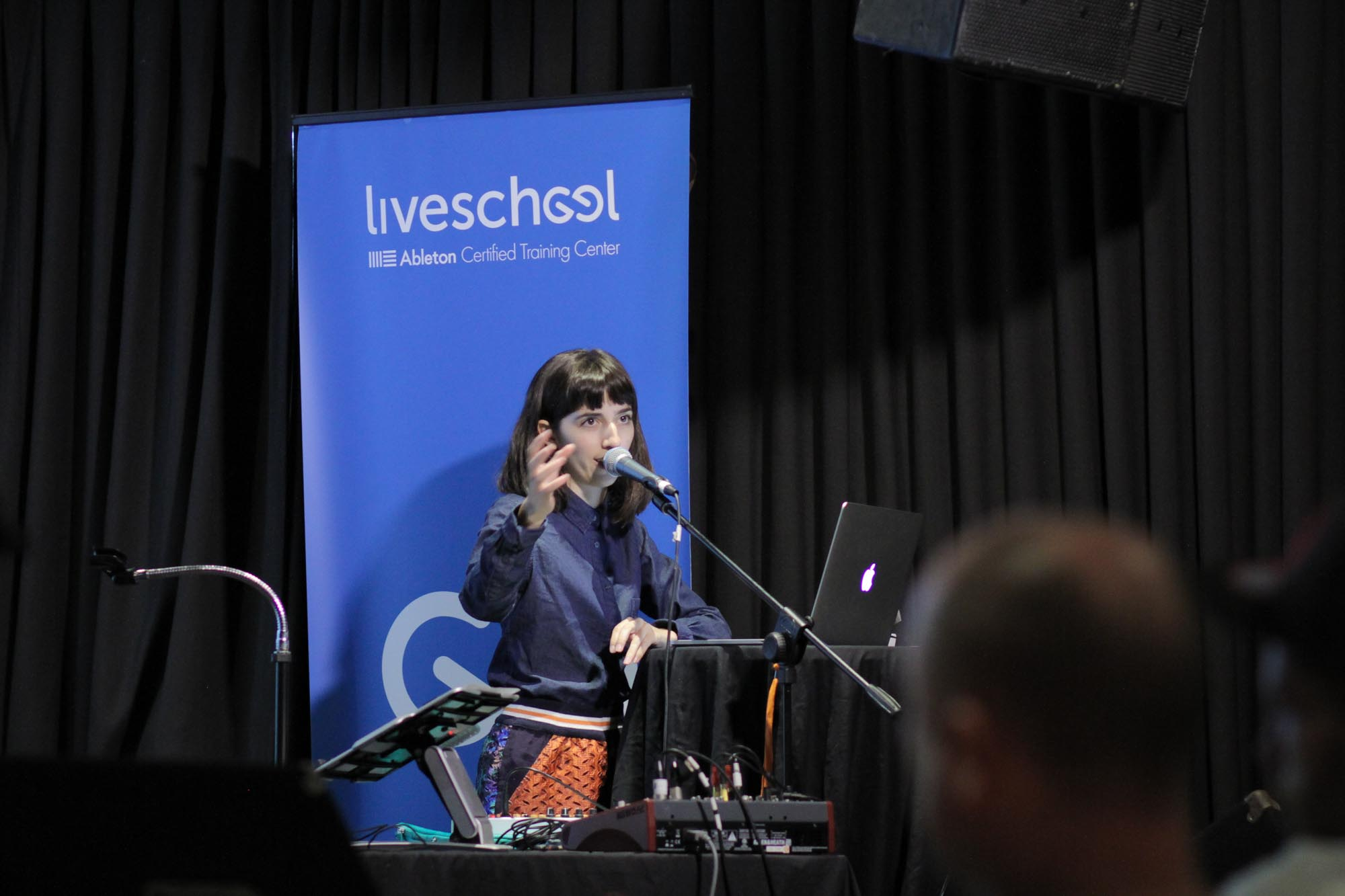 Elizabeth rose Ableton Live school input