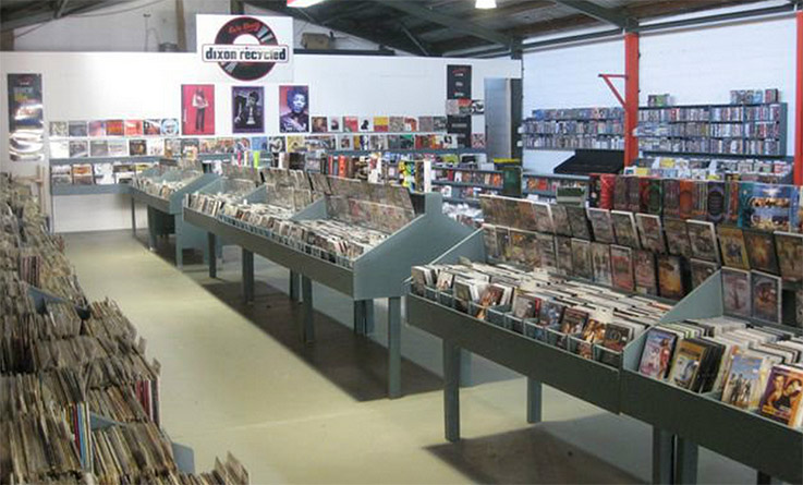 dixons recycled record store