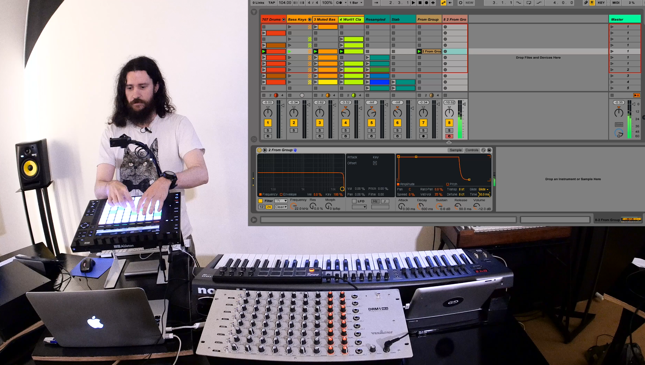 Video Tutorial: Create a Kick Drum from Silence with Live 9 5's new