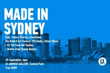 GA Made In Sydney