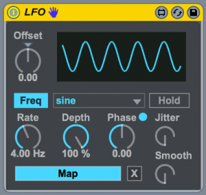 Max For Live LFO