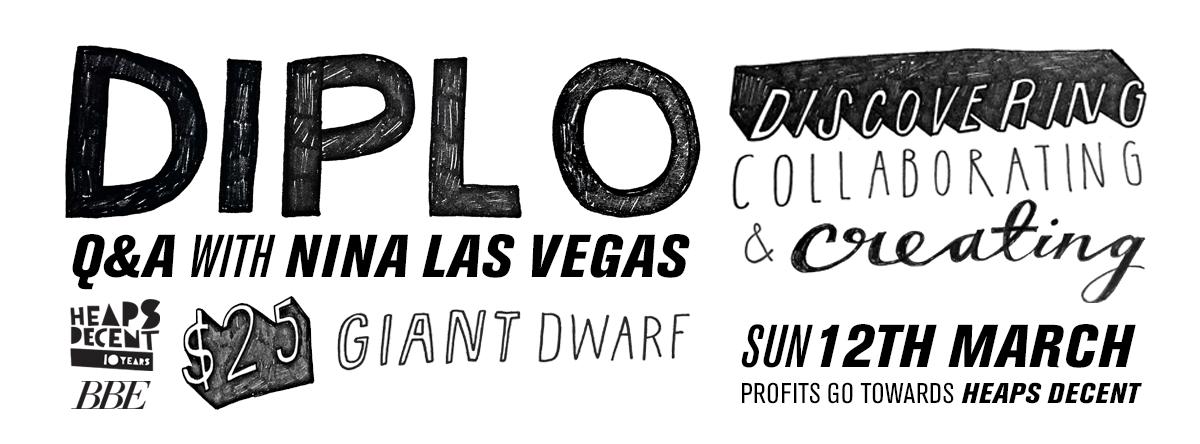 Diplo & Nina Las Vegas Q&A Giant Dwarf