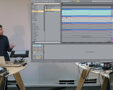 George Nicholas (seekae, cliques) drum tutorial Ableton Live
