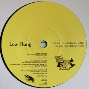 Low Flung Coastal Garden 7""