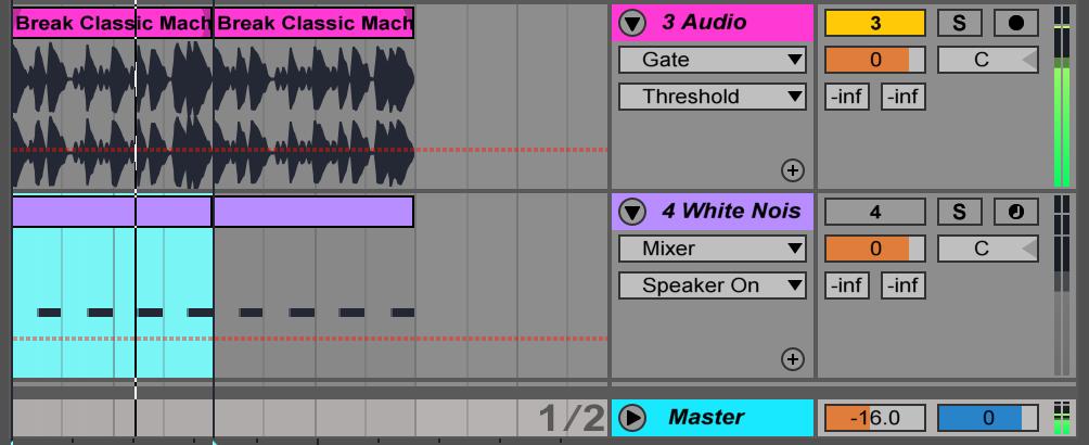 Adam Maggs Gate Remix Setup