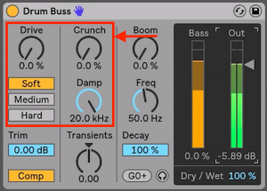 Drum Buss - Cruch and Distortion