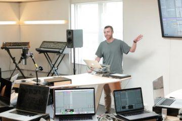 George Nicholas (Seekae/Cliques) Drum buss tutorial